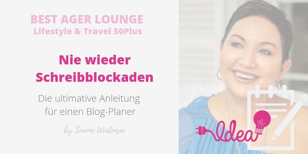 Schreibblockaden. Die perfekte Anleitung für einen Blog-Planner!