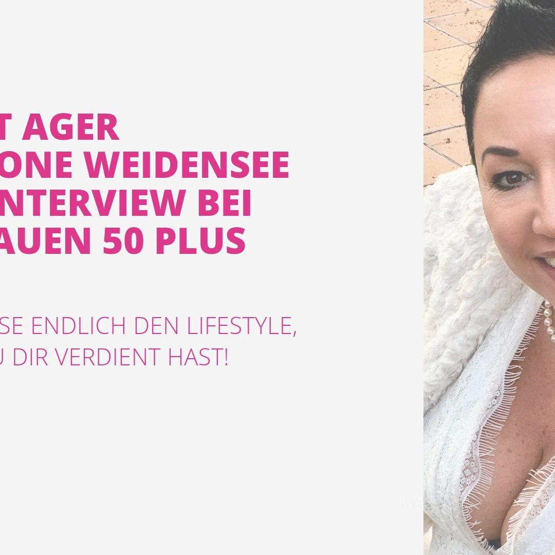 Simone Weidensee im Interview