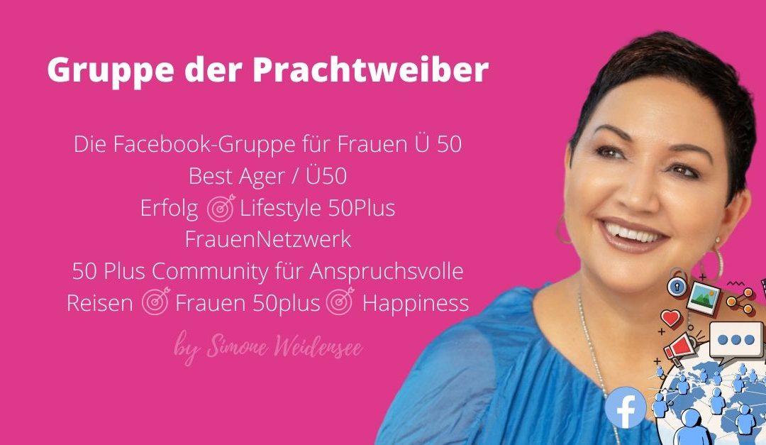 Best Ager Facebook Gruppe für Frauen Ü50