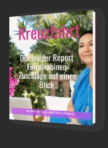 Insider Report Kreuzfahrten, Geld sparen, Alleine Urlaub machen, alleine in den Urlaub, Einzelkabinen, Best Ager Lounge
