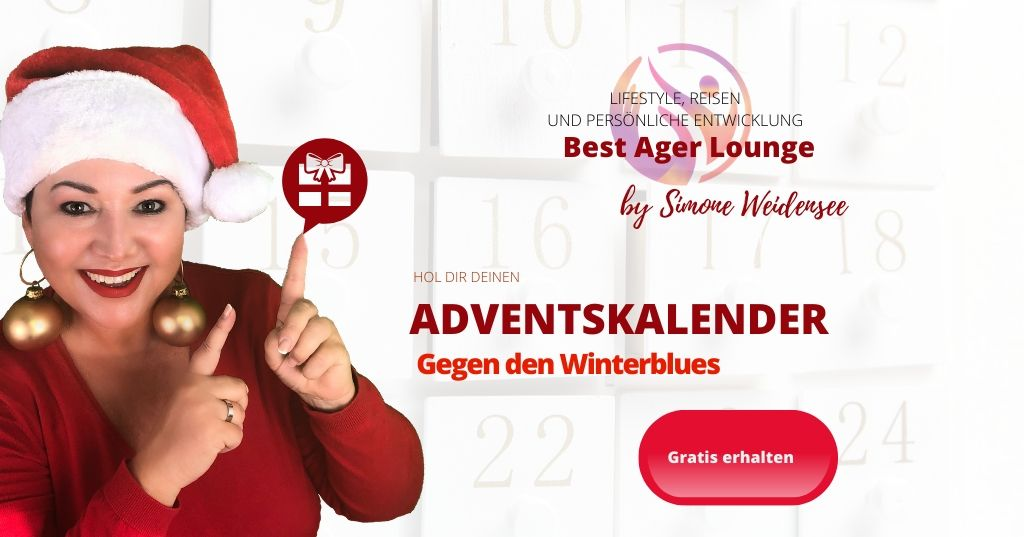 Gratis Adventskalender gegen den Winterblues bei Frauen in der Lebensmitte
