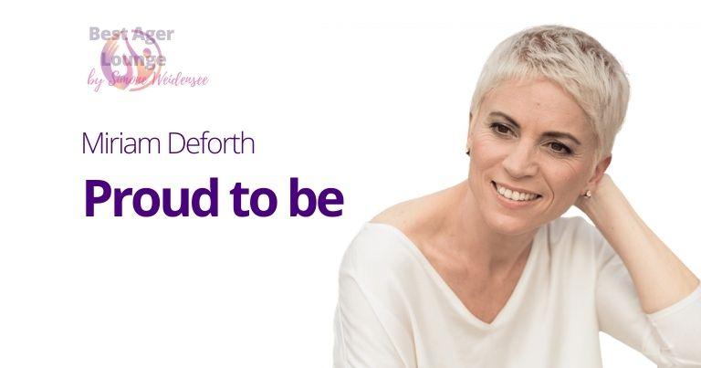 Was macht Miriam Deforth jetzt ,  Miriam Deforth Kosmetik, Miri proud to be