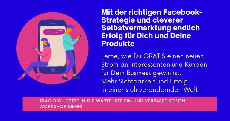 Online Marketing, Facebookmarketing, Best Ager Lounge, Lifestyle 50Plus, Simone Weidensee,