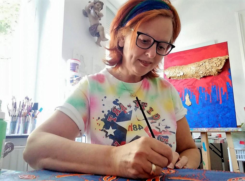 Energiebilder für die Seele von Fia Biba, Wie Du die Bedeutung der Farben für Deinen Erfolg nutzen kannst, Kraftbilder für die Seele, Künstlerin Malerin, Spirituelle Energiebilder