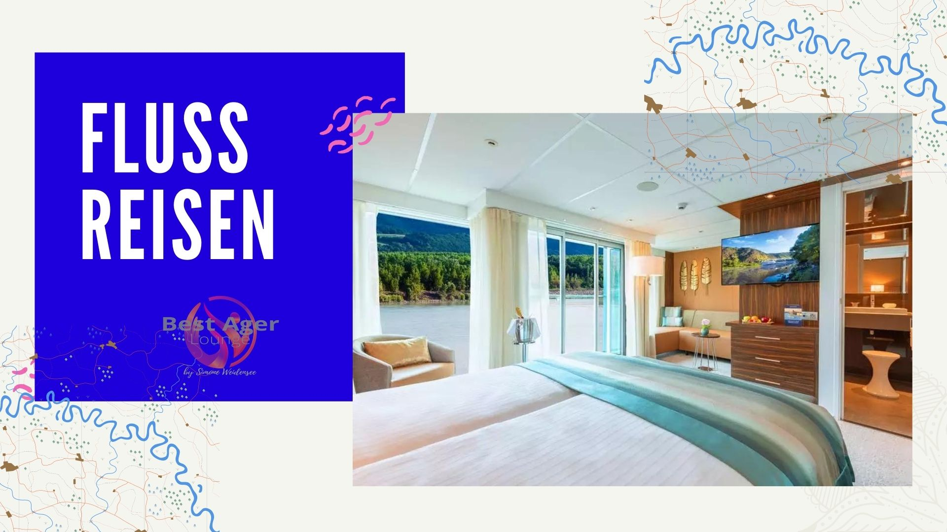 Last Minute Flusskreuzfahrten, Flussreisen2020, Flusskreuzfahrt, Lifestyle50Plus, Last Minute, Best Ager Lounge,